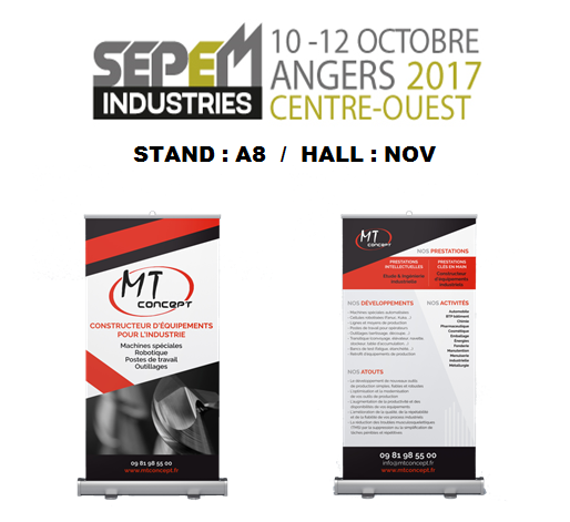 Mt concept est participant au salon de sepem industries d for Salon sepem