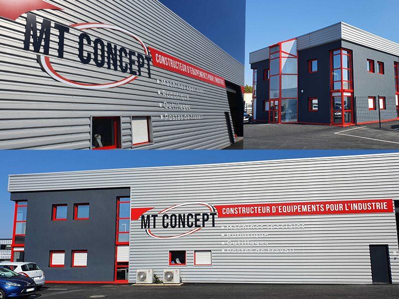 Photo Bâtiment MT Concept relookée 2021